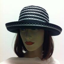 női szalma-vászon kalap 8ef6947364