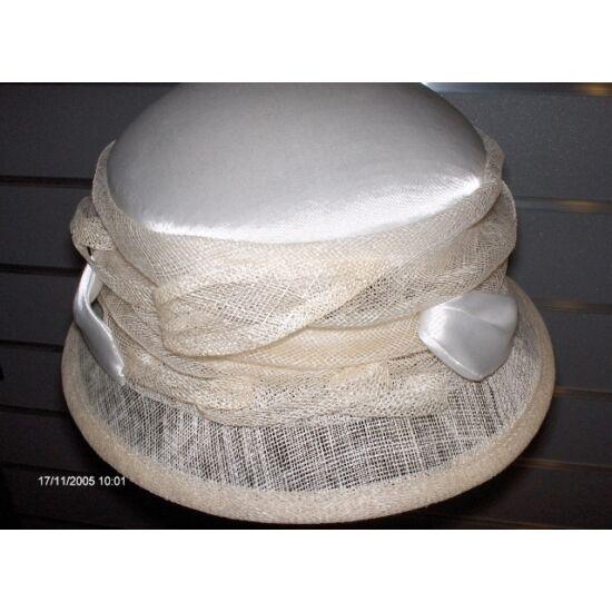 női szizál+szatén kalap