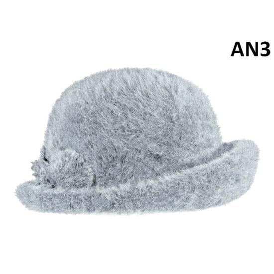 női angóra kalap