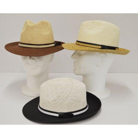 férfi. szalma kalap, <b>több lehetőség</b>