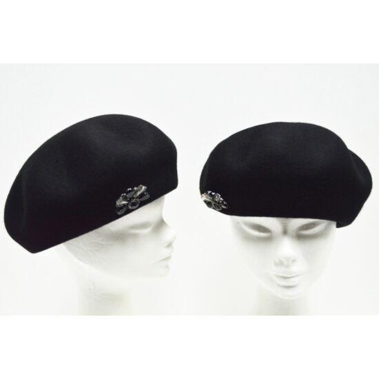Női gyapjú barett