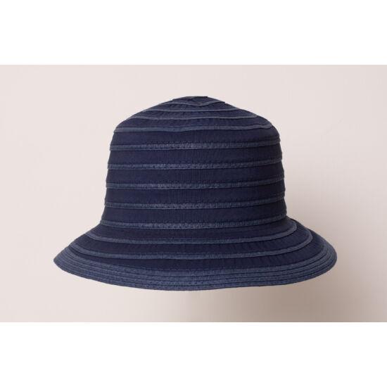 női szalma-vászon kalap, <b>több lehetőség</b>