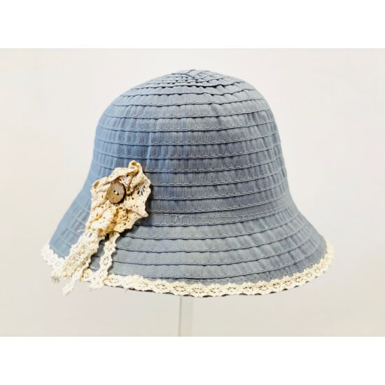 női vászon kalap, <b>több színben</b>