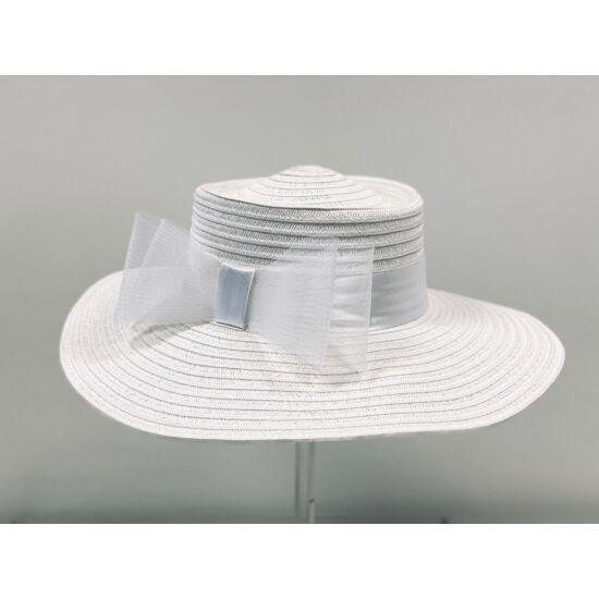 női papírszalma kalap