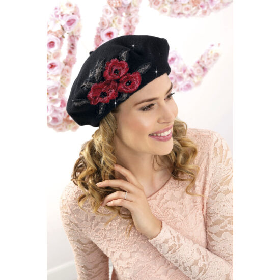 FELISJANETA női gyapjú barett
