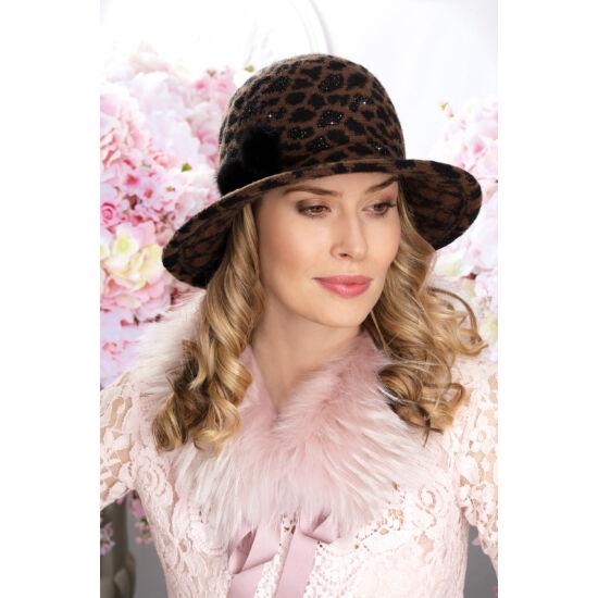 TIGARA női gyapjú kalap
