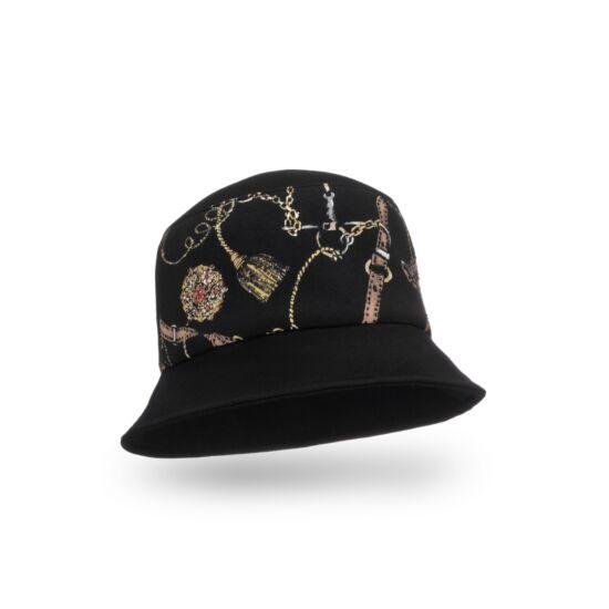 Willi Nimor3 női jersey kalap, fekete színben