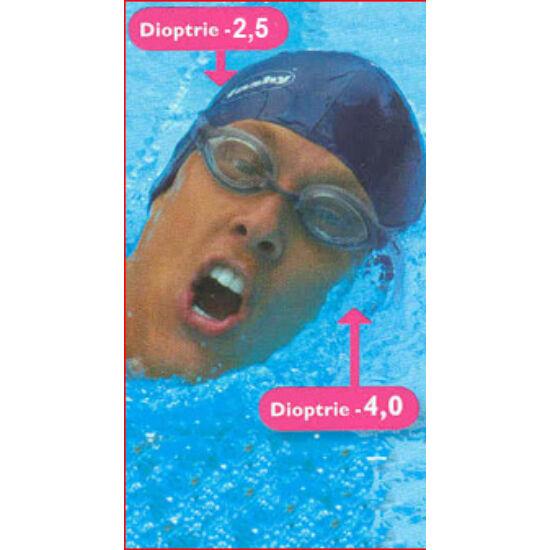 optikai lencse dioptriás és dioptria nélküli (szemenként külön rendelendő a lencse)