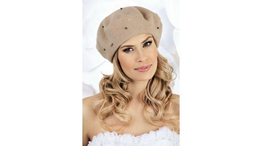 MARKO női gyapjú barett sapka - Hurkolt gyapjú fejfedő - accessories e6a755f43b