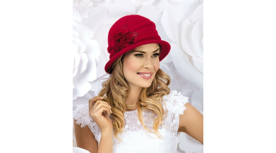 ALDONZA női gyapjú kalap - Hurkolt gyapjú fejfedő - accessories fa307842dc